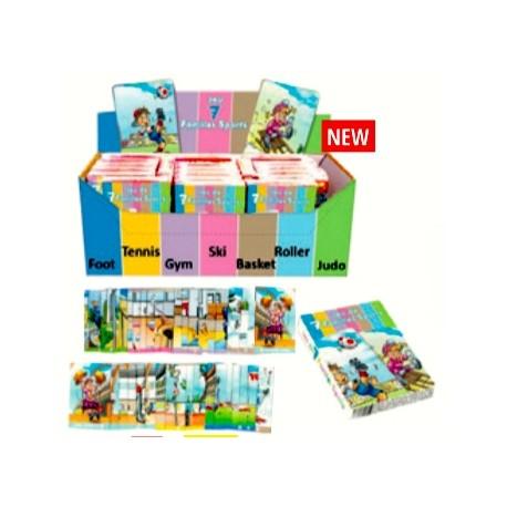 M25123  JEU DES 7 FAMILLES BOXDE 24  3588270025123