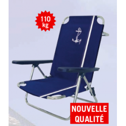 CHAISE AMERICAINE TUBE ALU  25