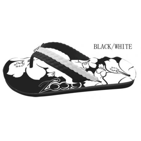 CARAÏBES GOOZ COL BLACK/WHITE